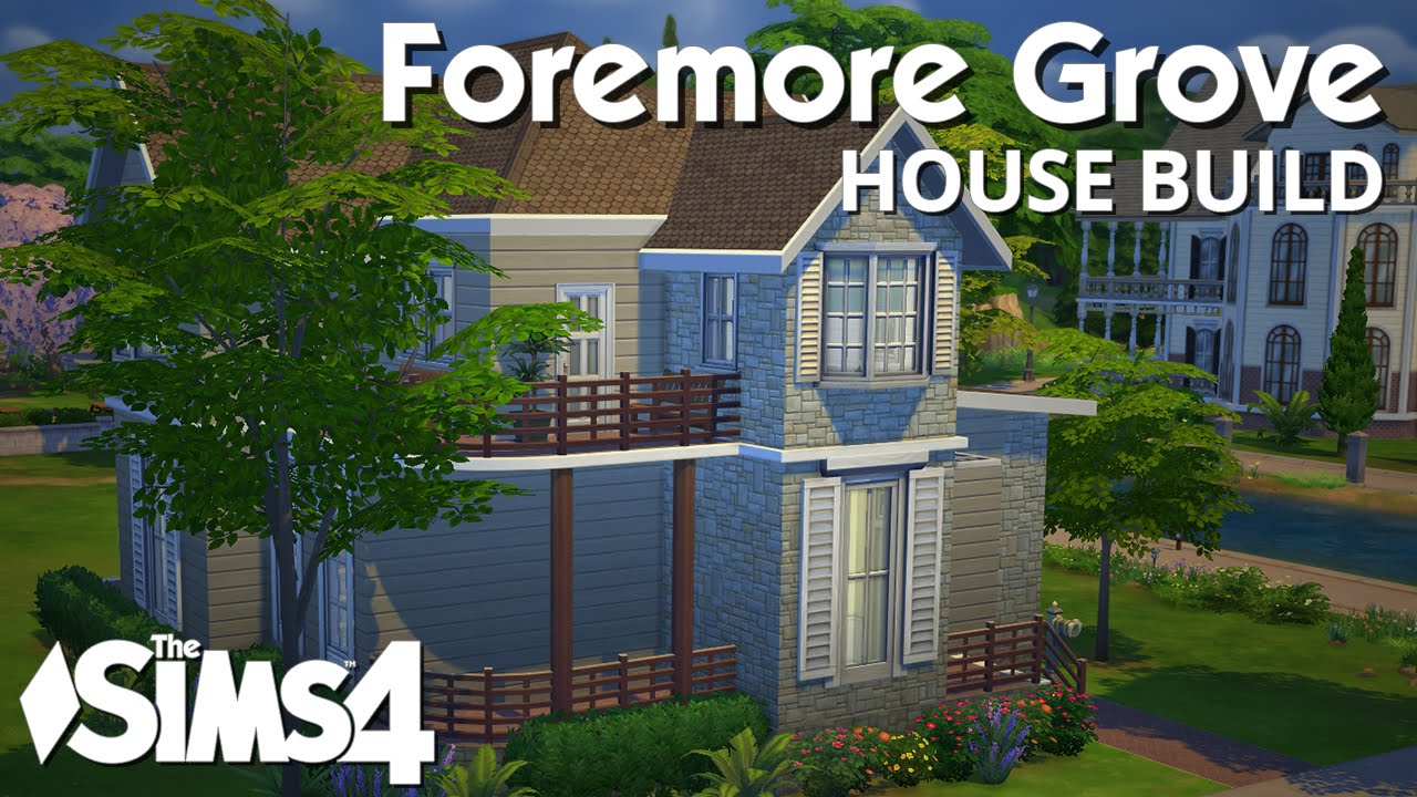 The sims 4 house building foremore grove youtube for The grove house