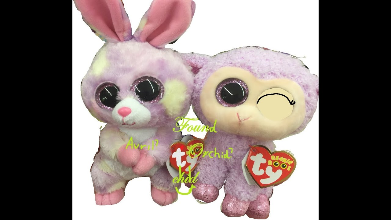a515df10fe9 Beanie boos Found Orchid and Avril in a store! Getting Orchid (first on  YouTube)