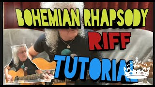 Brian May Isolated; Bohemian Rhapsody Tutorial in his living room