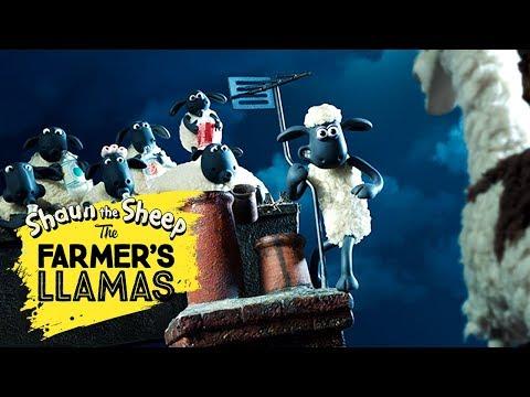Bagian 3: Llama Pak Tani [The Farmer's Llamas Part 3] | Shaun the Sheep
