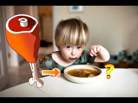 С какого возраста можно давать наваристый суп ребенку? Можно ли ребенку мясной суп?