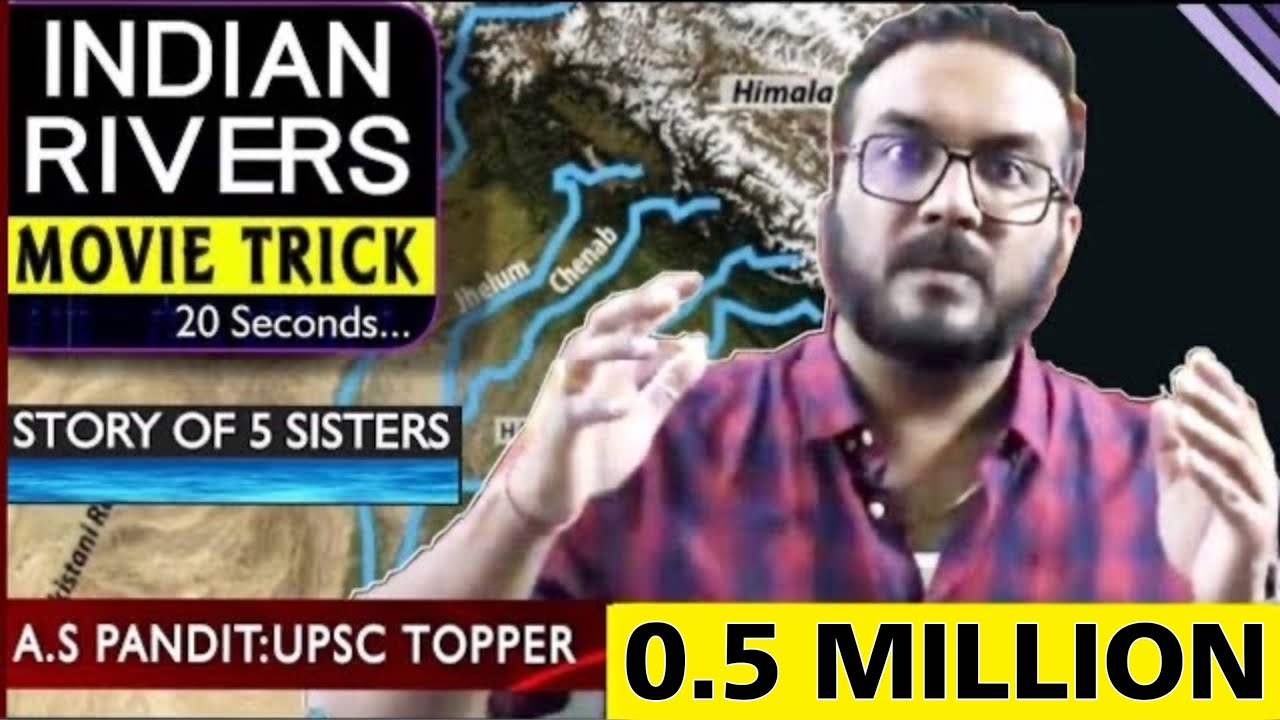 Best TRICK : All Rivers of India in 20 Sec   पूरी LIFE नहीं भूलोगे अब   UPSC/SSC