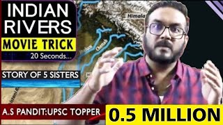 Best TRICK : All Rivers of India in 20 Sec | पूरी LIFE नहीं भूलोगे अब | UPSC/SSC