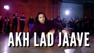 AKH LAD JAAVE - CHAYA KUMAR AND SHIVANI BHAGWAN CHOREOGRAPHY - BOLLYWOOD DANCE