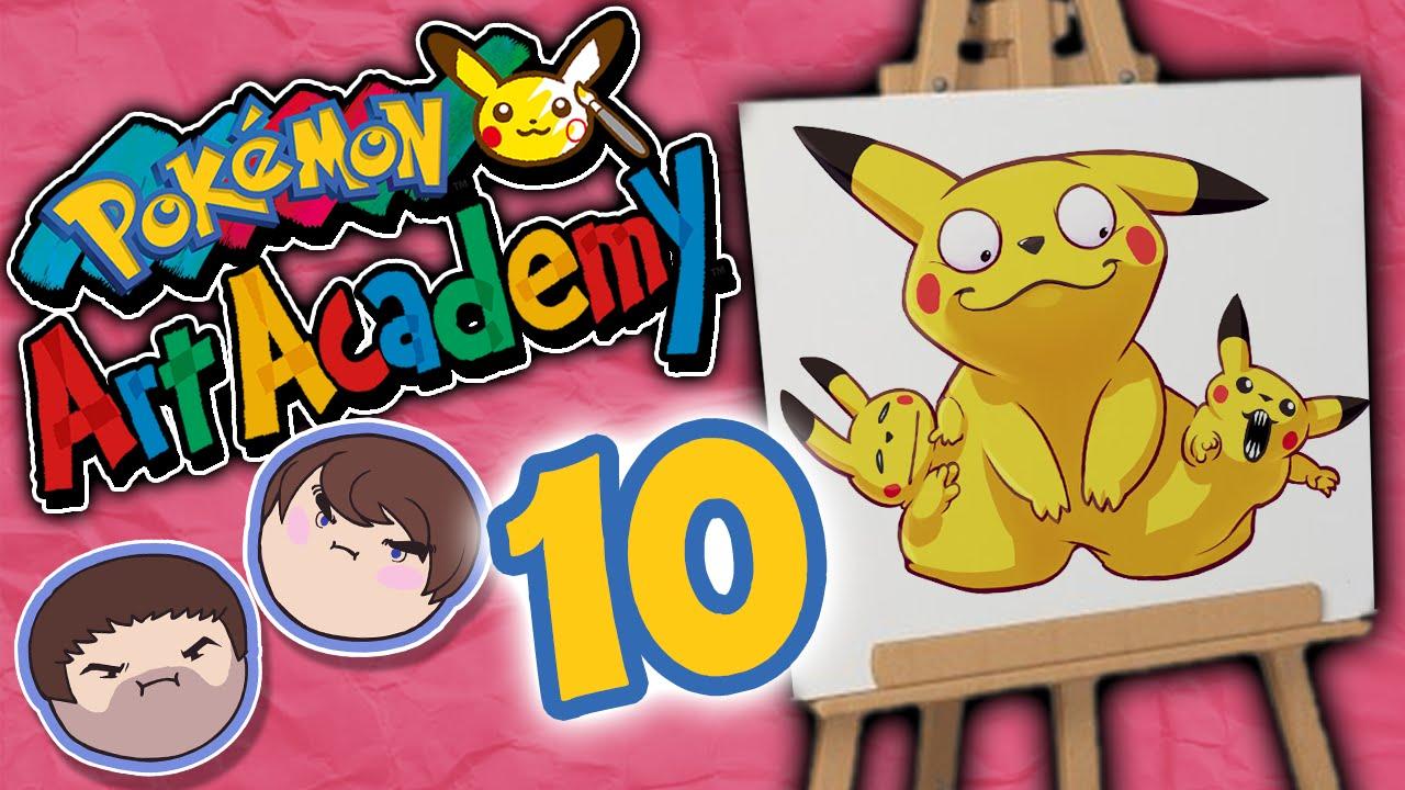 Uncategorized Pokemon Drawing Games pokemon art academy drawing a blank part 10 grumpcade youtube