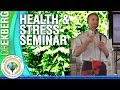 Cumming Chiropractor Dr Ekberg - Heath and Stress - Health Seminar