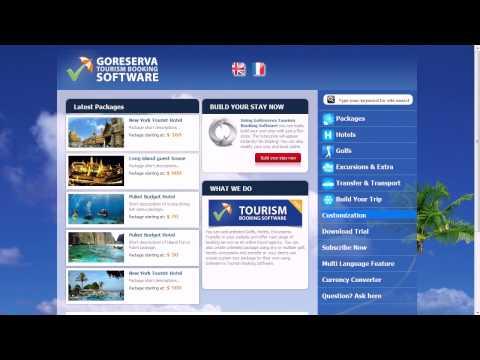 GoReserva Tourism Template Configurations