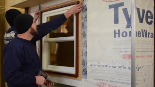 Wood Rainscreen Installation Climate-shield