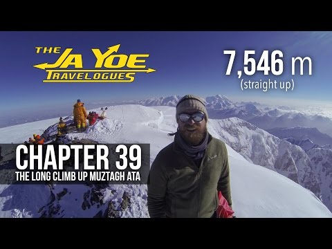 The Long Climb up Muztagh Ata | JaYoe Travelogues | Chapter 39