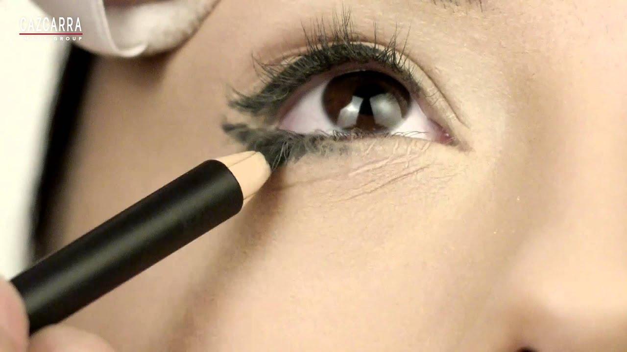Maquillaje paso a paso para ojos peque os youtube for Como maquillar ojos ahumados paso a paso