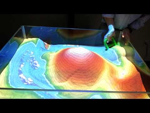 Augmented Reality Sandbox Black Rock Retreat