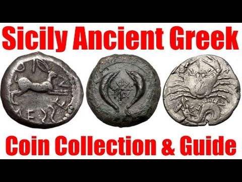 Sicily Ancient Greek Coins Guide  and Collection for Sale on eBay