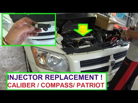 Dodge    Caliber    Serpentine Belt Replacement and    Diagram    2