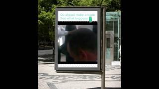 RH bus stop mockup