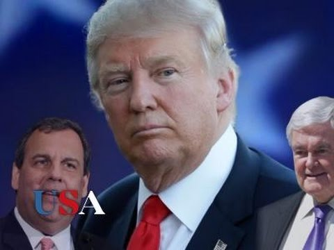 Gingrich, Christie Top Trump VP Short List | USA Election News 2016