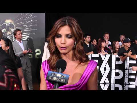 Charisma Carpenter Talks 'The Expendables 2' At Premiere