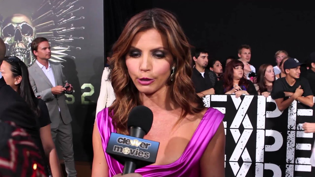 8e7c3eabab0 Charisma Carpenter Talks  The Expendables 2  At Premiere - YouTube