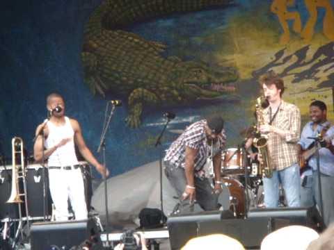 2010 Jazz Fest - Trombone Shorty & Mystikal