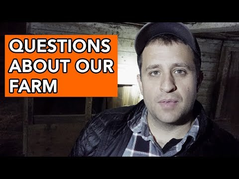 Answering Questions About Our Farm