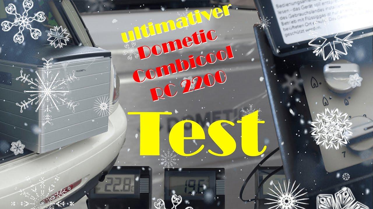 Auto Kühlschrank Dometic : Dometic combicool rc2200 egp im test absorber kühlbox mit 12v