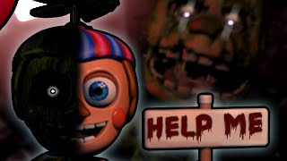 Is Balloon Boy A Hallucination Or Real? || Five Nights At Freddy