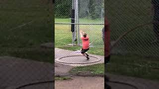 12lb Hammer throw 204'