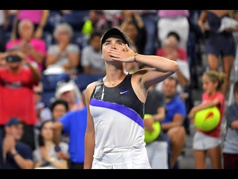 Elina Svitolina vs. Dayana Yastremska   US Open 2019 R3 Highlights