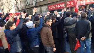 """MHP FATİH """"Şehide Saygı Teröre Lanet"""" yürüyüşü"""