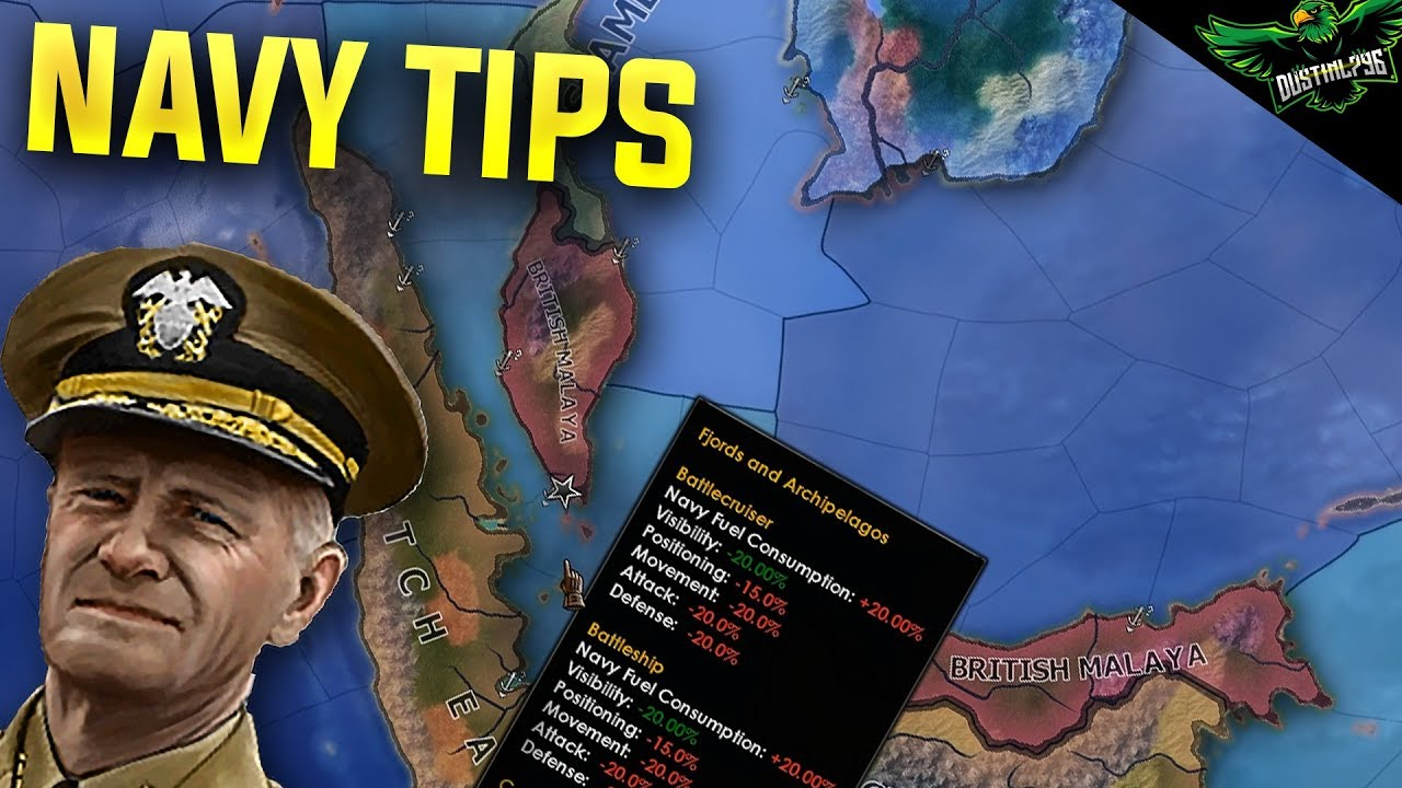 HOI4 MTG Navy Tips and Tricks ( hearts of iron 4 Man the Guns Naval guide)
