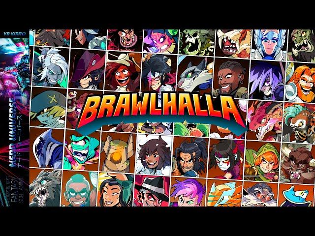 Brawlhalla | Battles mit Mido & Nyhmus ☬ Free2Play Check [Deutsch] PC