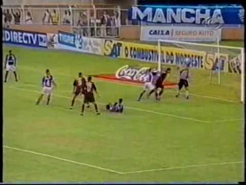 Confiança 0 x 2 Vitória - Campeonato do Nordeste de 2002