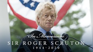 Sir Roger Scruton | 2012 Hillsdale College Commencement Address