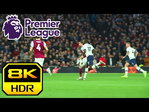 English Premiere League in 8K HDR