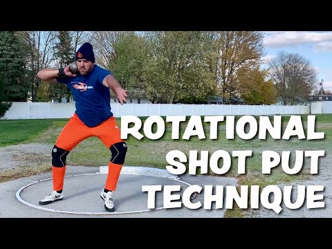 SHOT PUT | Balance Posture & Strength