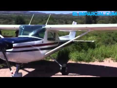 aterriza-avioneta-por-falla-mecánica-en-nogales