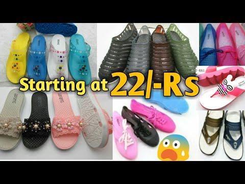Cheapest footwear market  heels,sandals,shoes for girls, ladies and kids wholesale, Inderlok, Delhi thumbnail