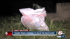 Indianapolis neighbors start trash pickup programs