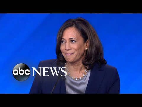 Kamala Harris compares Donald Trump to 'little man' in 'Wizard of Oz'