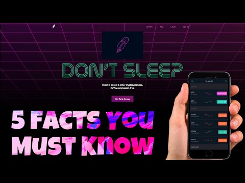 5 Things You MUST Know About Robinhood Crypto