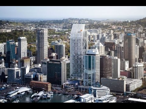 New Commercial Bay Office Tower for Auckland