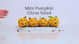Mini Pumpkin Citrus Salad Recipe