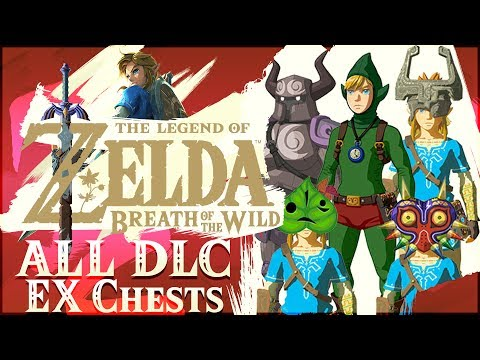 ALL 10 EX Chest Locations from DLC Pack 1! Majora's Mask, Tingle, Phantom, Midna, & More!
