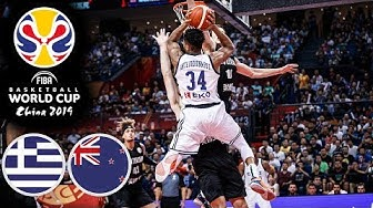 Greece 🇬🇷 vs New Zealand 🇳🇿 - Classic Full Games | FIBA Basketball World Cup 2019