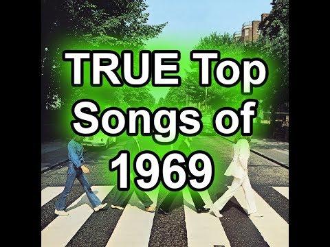 The TRUE Top 50 Songs of 1969 - Best Of List