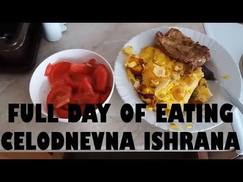 Full day of eating - Celodnevna ishrana 20.06.2018.