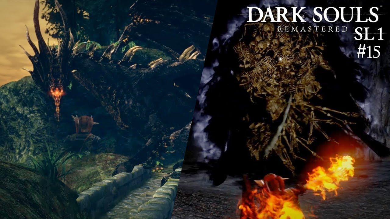 🔥 Niederlagen gegen Kalameet und Gravelord Nito - Dark Souls: Remastered SL1 #15