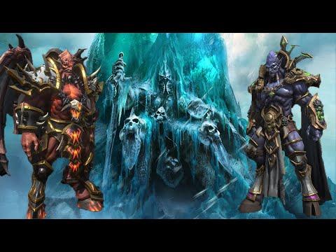 El Rey Exánime vs Kil'Jaeden y Archimonde (Batalla Warcraft 3 Reforged)