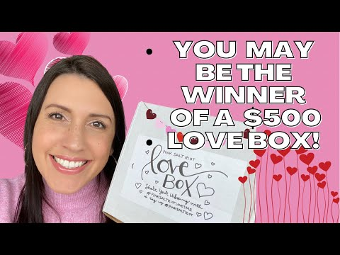 💗Pink Salt Riot's February 2021 LOVE BOX RELEASE | Unboxing & Product Review