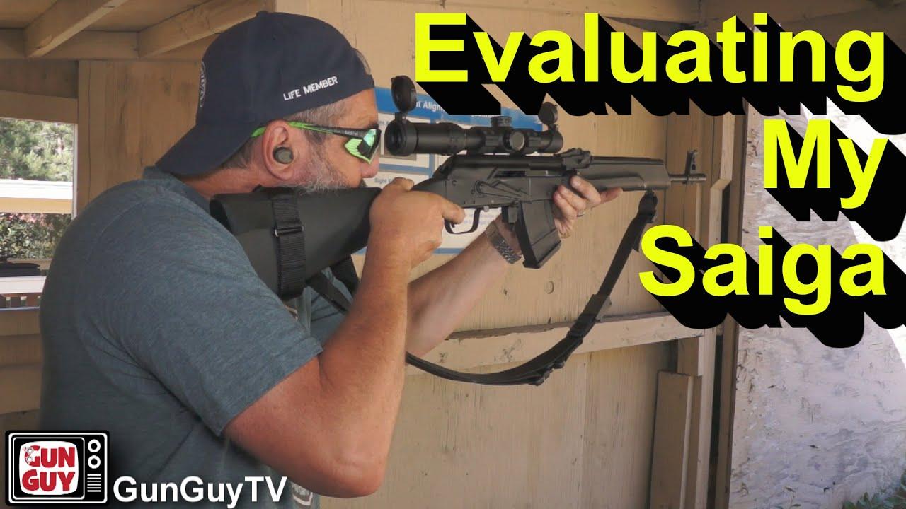 Evaluating My Saiga Rifle in 7.62x39