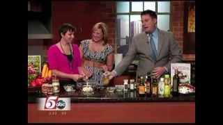 TCL Fridge Takeover: Part 2 - Make Your Own Salad Dressing (7/26/12 on KSTP's Twin Cities Live)